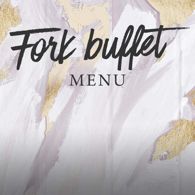 Fork buffet menu at The Seahorse