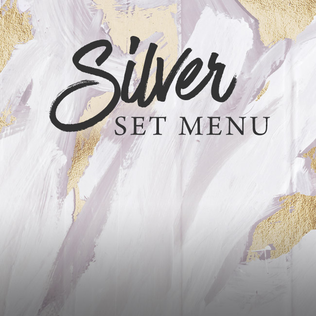 Silver set menu at The Seahorse