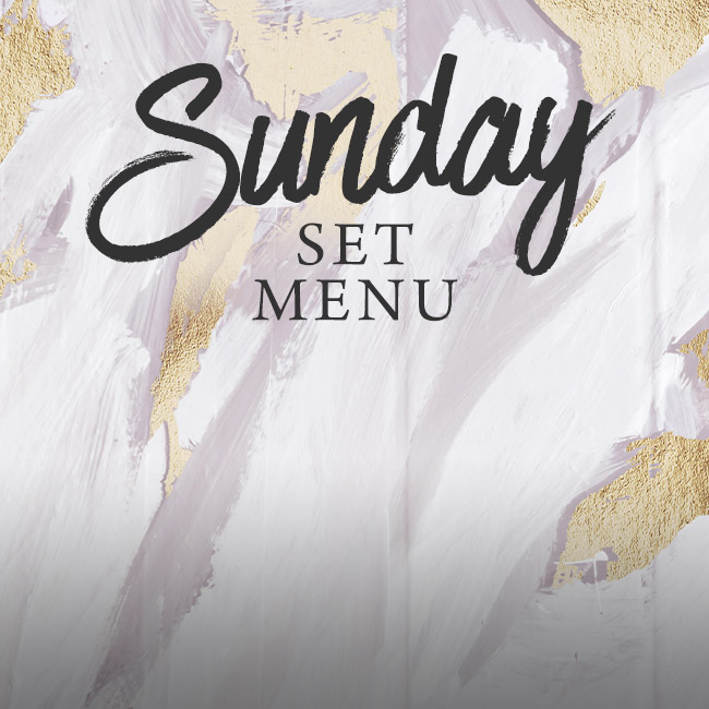 Sunday set menu at The Seahorse