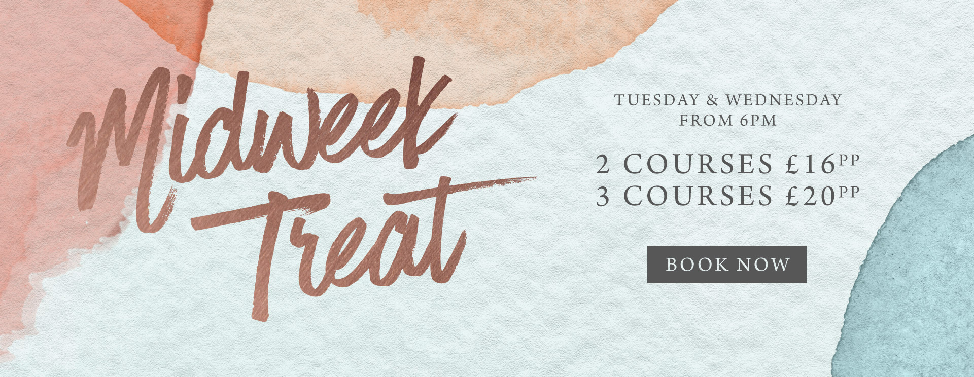 Midweek treat at The Seahorse - Book now